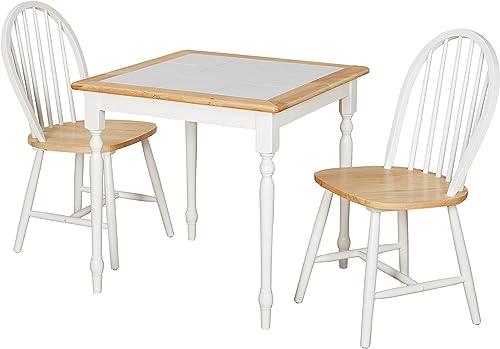 Target Marketing Systems Modern Tile Top Kitchen Dining Room Set