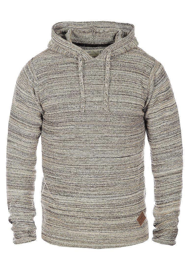 TALLA M. Solid Macall Jersey De Punto Suéter Sudadera Para Hombre Con Capucha De 100% algodón