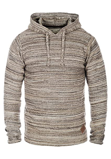 Solid Macall Jersey De Punto Suéter Sudadera Para Hombre Con Capucha De 100% algodón: Amazon.es: Ropa y accesorios