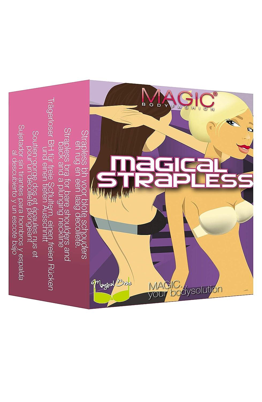 Amazon.com: Magic BodyFashion Womens Magical Strapless Underwire Bandeau Bra: Clothing