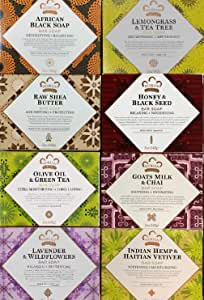 Nubian Heritage Soap Combo (8 Pack) iwgl