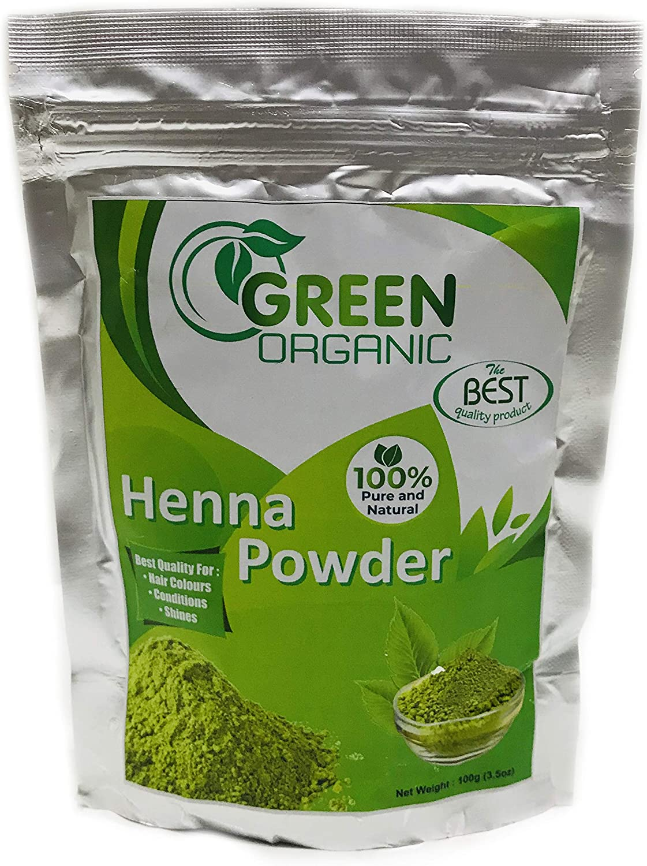 Henna Powder- Tinte para el cabello, polvo de henna, natural ...