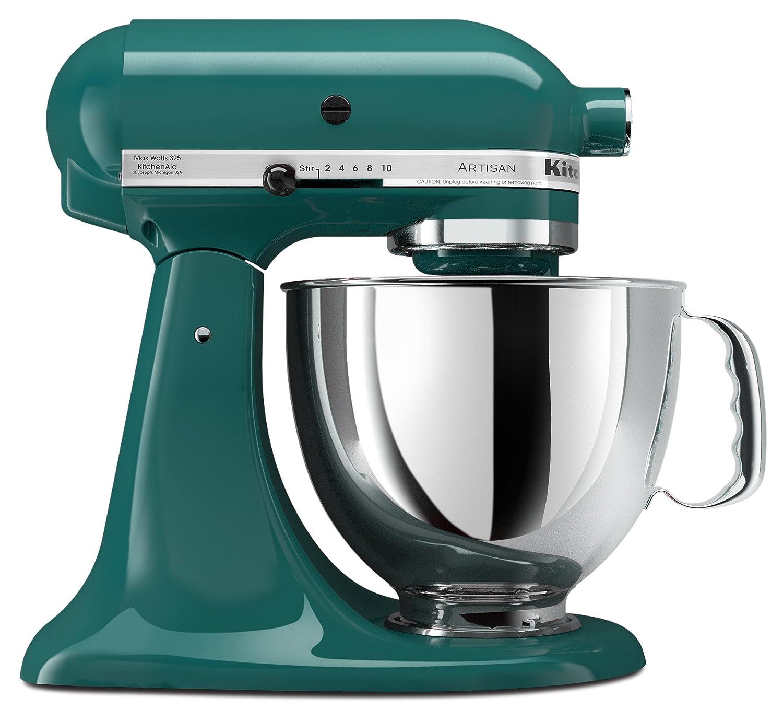 Amazon.com: KitchenAid KSM150PSBL Artisan Series 5-Qt. Stand Mixer ...