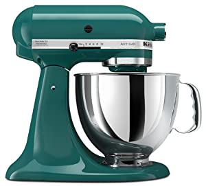 KitchenAid KSM150PSBL Artisan Series 5-Qt. Stand Mixer with Pouring Shield - Bay Leaf