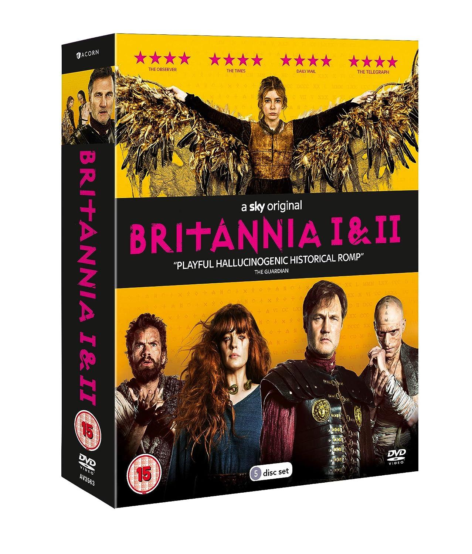Britannia - Series 1 and 2 Box Set [DVD]