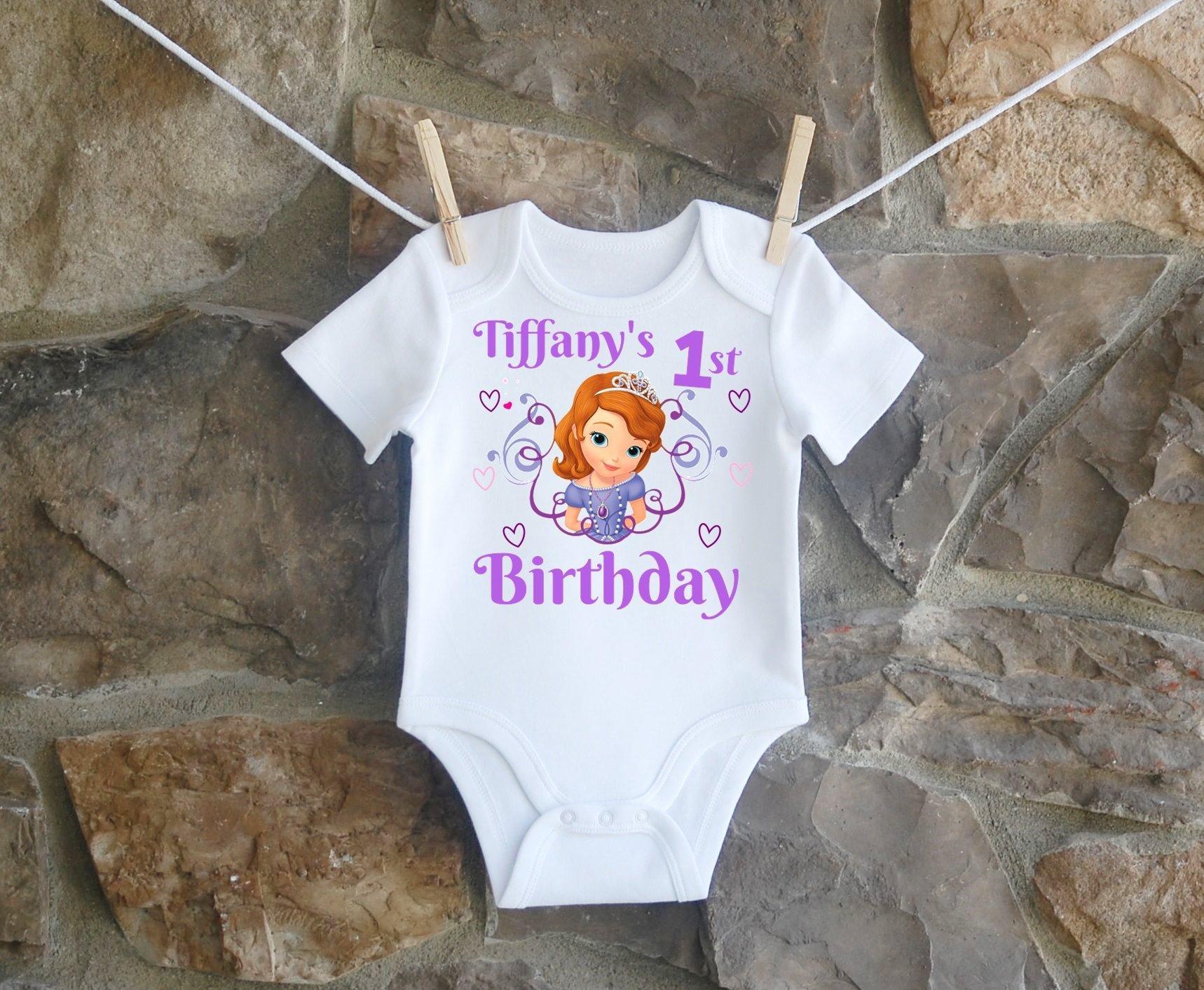 Princess Sophia Birthday Shirt, Princess Sophia Birthday Shirt For Girls, Personalized Girls Princess Sophia Birthday Shirt, Customized Princess Sophia Birthday Shirt