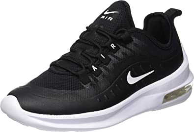 Nike Women's Air Max Axis Running Shoe (8.5 M US, Black/White)
