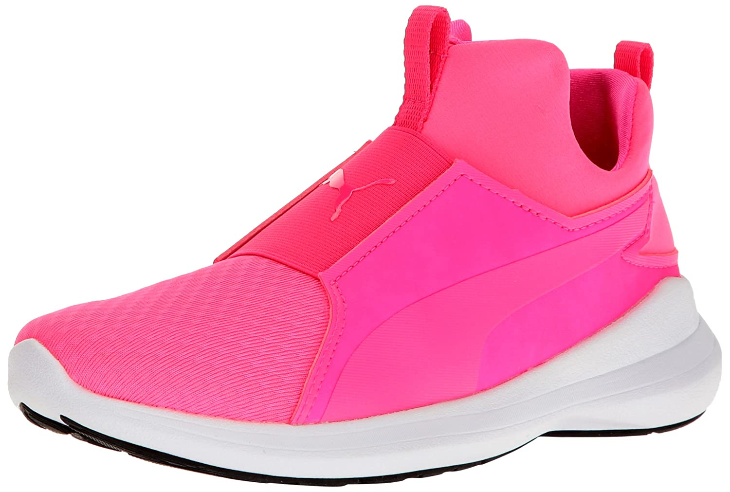 PUMA Women's Rebel Mid WNS Sneaker B01M4LCAWG 7 M US|Knockout Pink-knockout Pink-puma White