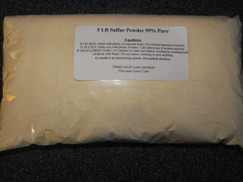 Amazon.com: 5LBS Pure Sulfur Powder: Garden & Outdoor