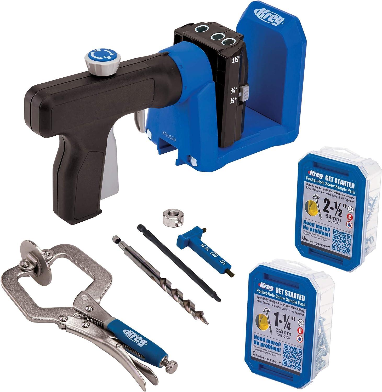 Mini Kregs Jig Pocket Hole Jig Straight Vertical Fixture Hole Jig Hole Locator Puncher Ottimo strumento per lavori di falegnameria