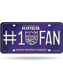 NBA #1 Fan Metal Tag License Plate
