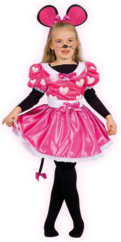 Ciao 10798 - Disfraz de Mickey Mouse para niña con maquillaje ...