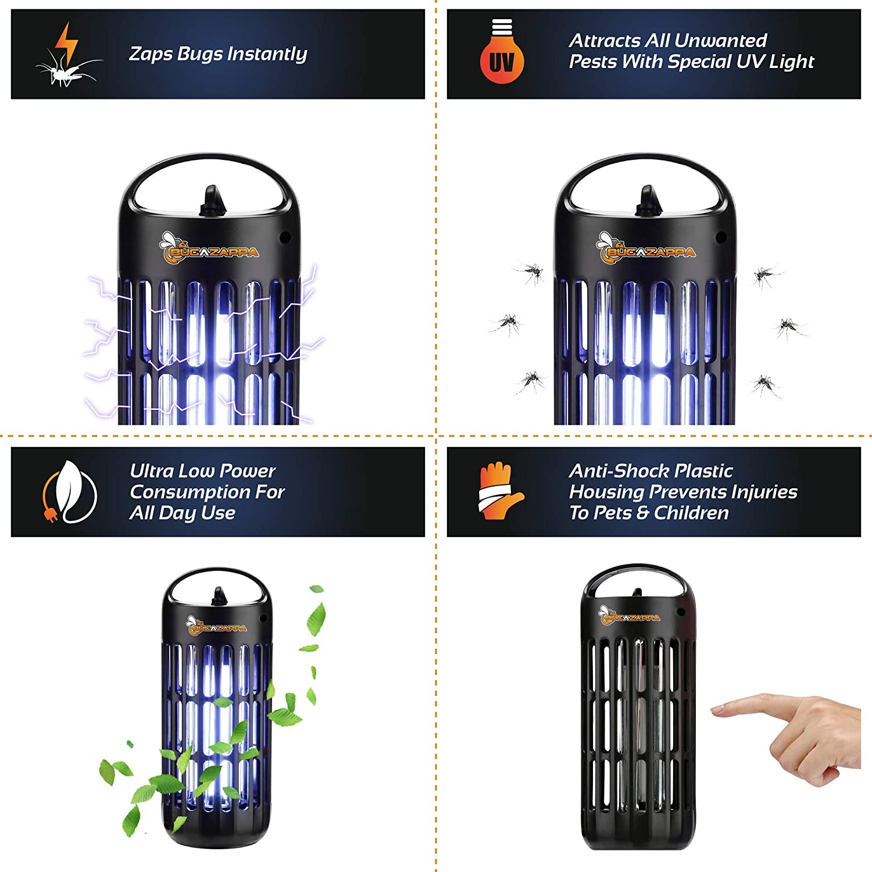 Amazon.com: BugAZappa Bug Zapper Lantern | Great Indoor ...