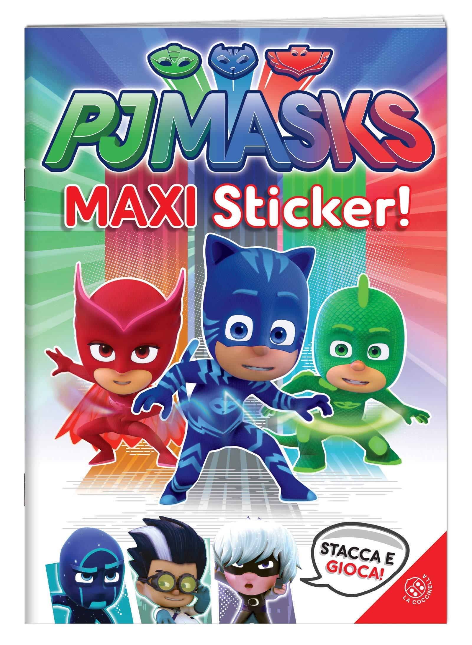 Superpigiamini. Maxi sticker. Pj Masks. Con adesivi. Ediz. a ...