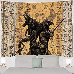 Holy Egyptian Mural Tapestry Wall Hanging Wallbackground Curtains Tapisserie For Living Room Dorm Apartment Wall Decor