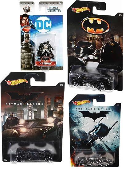 e79003fa5ac32 Amazon.com: Batman Exclusive Hot Wheels Cars & Mini Nano Metal ...