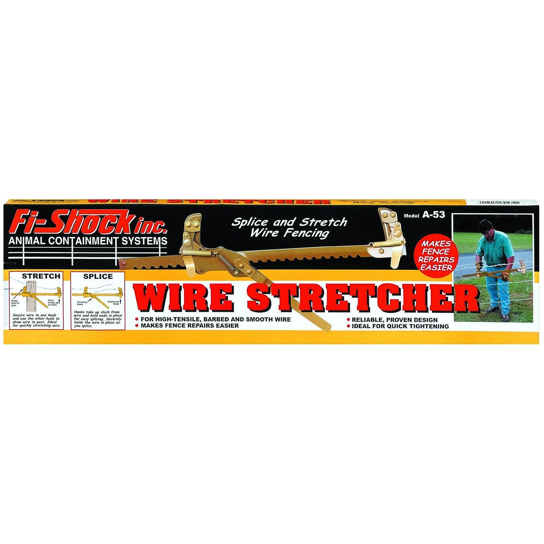 Amazon.com : Fi-Shock A-53 Wire Stretcher : Livestock Enclosure ...