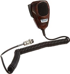 RoadPro TM-2007WG Wood Grain 4-Pin Noise Canceling CB Microphone