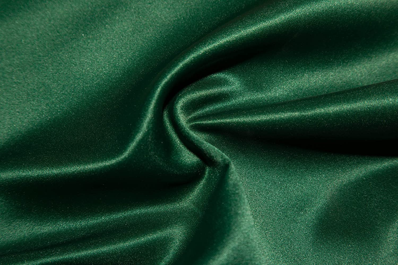 "25 Yards 60/"" Teal Charmeuse Shiny Bridal Satin Fabric"