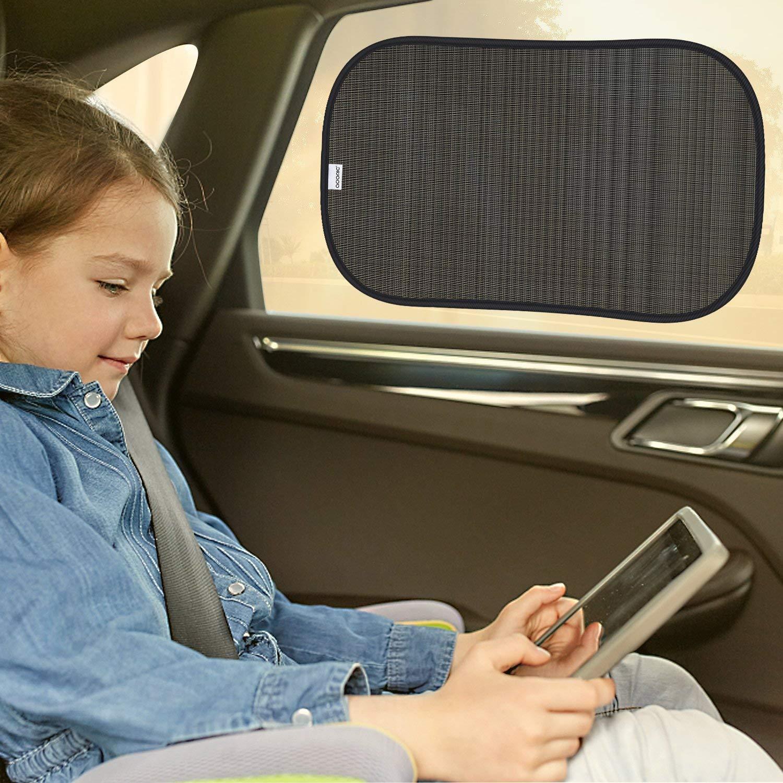 adatte alla maggior parte dei veicoli Tendine da sole per i finestrini dellauto in confezione da 3 pezzi 51 x 31 cm per bambini