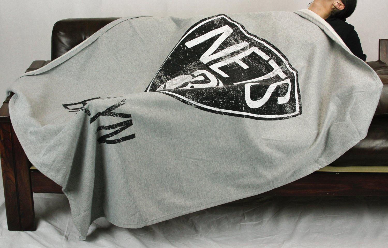 Brooklyn Nets NbaスウェットシャツThrowブランケット、グレー   B00UXKZYGC