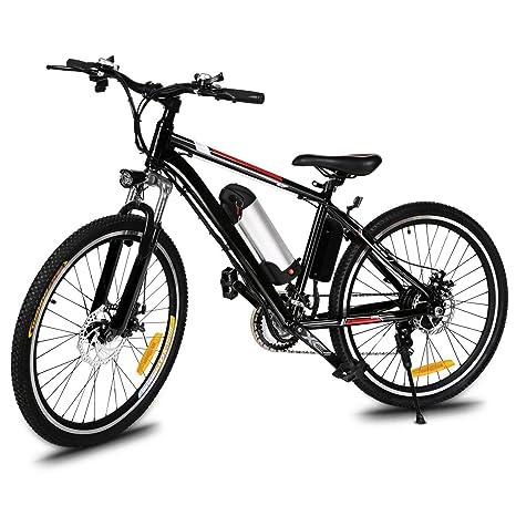 ANCHEER 25 Zoll klappbar Mountainbike Bergbike Bergfahrrad Radfahren E-bike 35km Elektrofahrräder