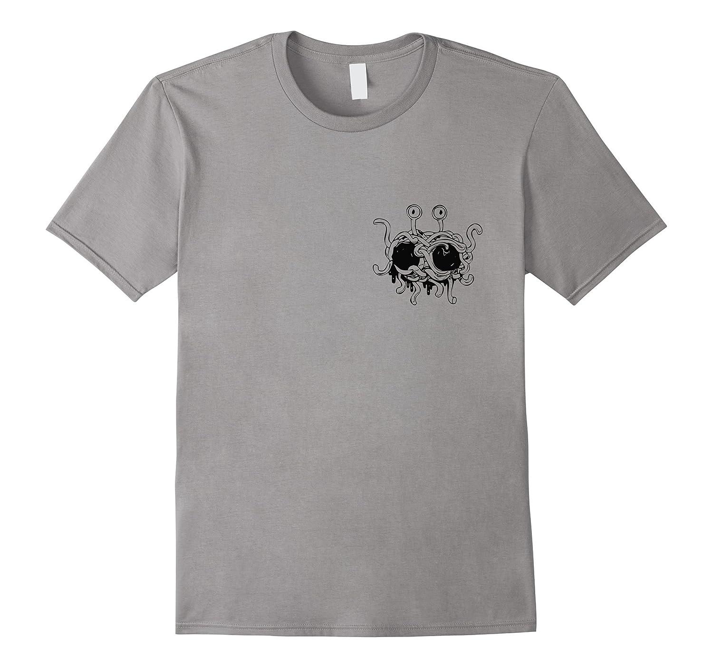 Spaghetti Monster Meatballs T-Shirt - Funny FSM Atheist-BN