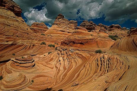 Coyote Buttes in Desert Wallpaper Wall Mural Self Adhesive