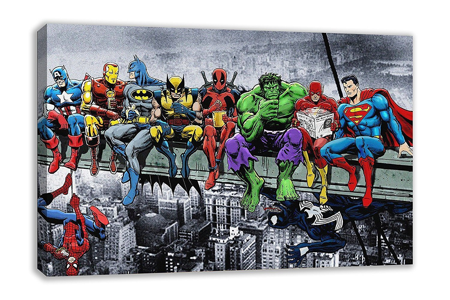 Neu Amazon.com: MARVEL DC COMIC SUPERHEROES GIRDER LUNCH ATOP  PC63
