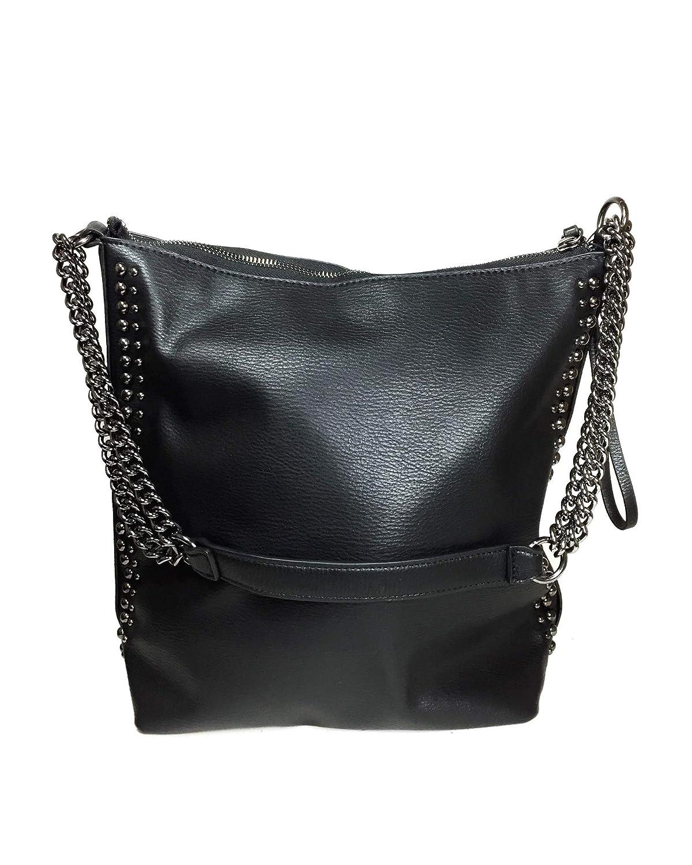 72dfde3899 Zara Women's Bucket bag with chain detail 5018/304: Amazon.co.uk: Shoes &  Bags