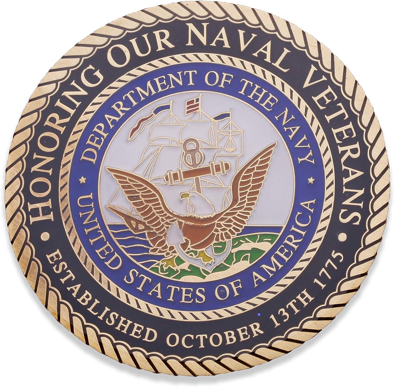 Navy Veteran Challenge Coin Armed Forces Depot U.S