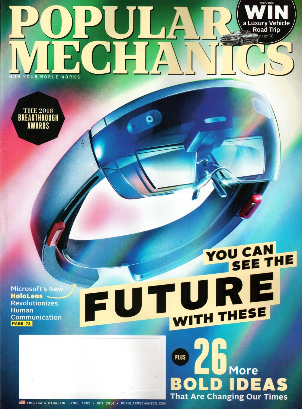 Download Popular Mechanics Magazine October 2016  You can see the Future PDF