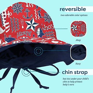 00d96e57 Amazon.com: My Swim Baby Sun Hat: Clothing