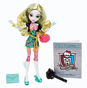 Amazoncom Monster High Picture Day Lagoona Blue Doll Toys  Games