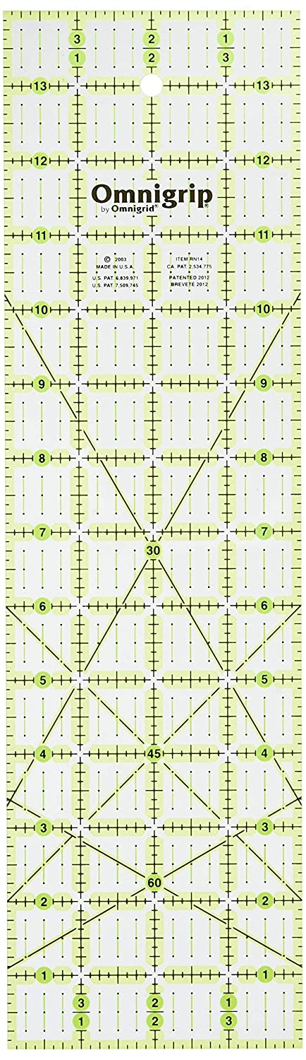 Quilters Square Dritz Omnigrid 6-1//2-Inch by 6-1//2-Inch