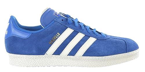sports shoes 69e9f 6c38d Adidas Originals Gazelle II Mens Shoes Suede Royal BlueWhite g96680-12