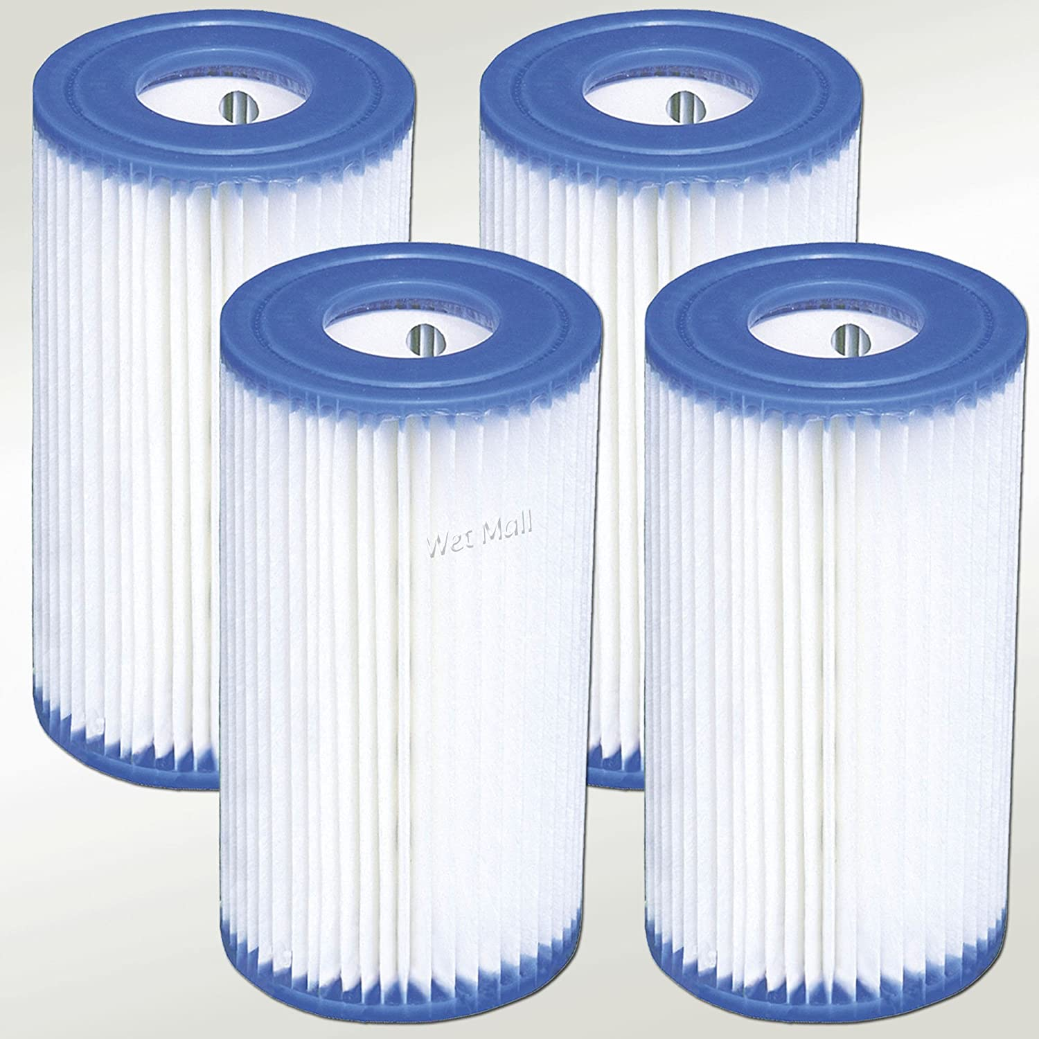 INTEX Easy Set Pool Type A Filter Cartridges - 59900E (4 pack), New, Free Shipping