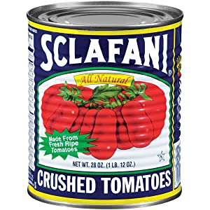 Sclafani Crushed Tomatoes, 28 Ounce (Pack of 12)