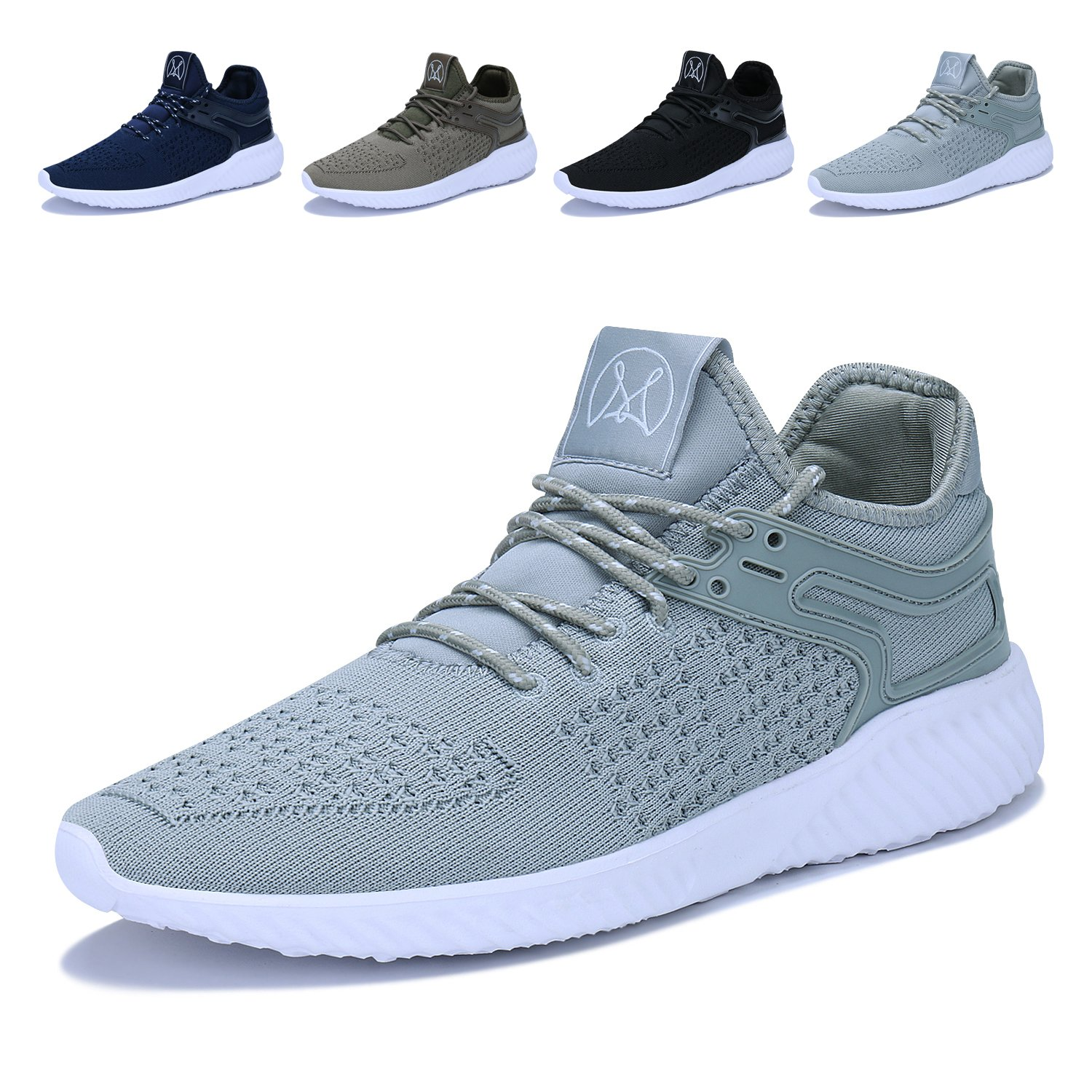 Men's Casual Walking Shoes Lightweight Breathable Running Tennis Sneakers Caitin