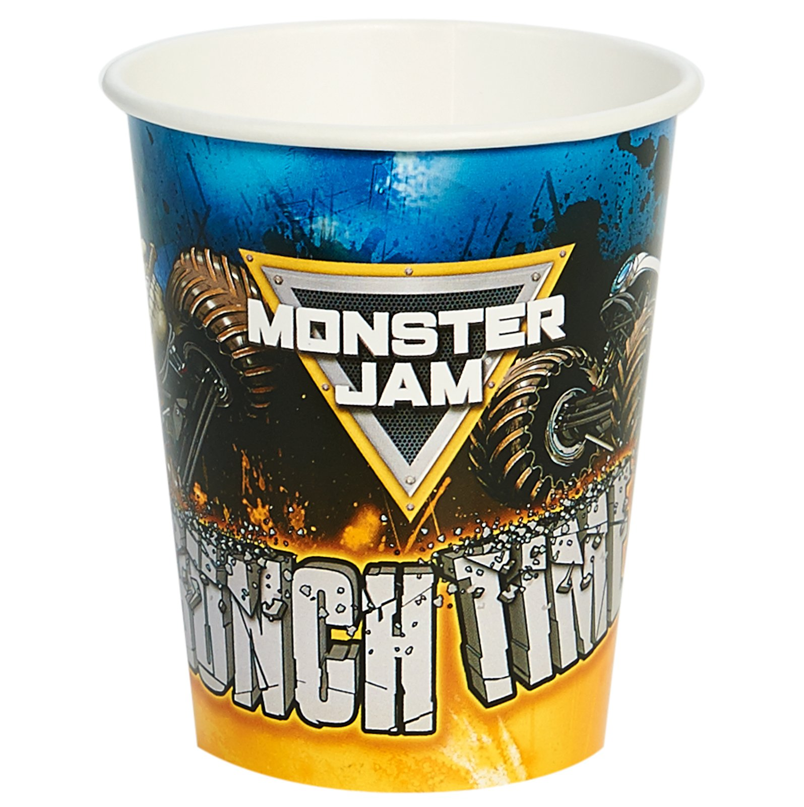 Monster Jam Birthday Party Supplies 48 Pack Paper Cups by BirthdayExpress