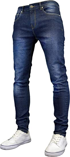 526Jeanswear Raptor Stretch Super Skinny Fit Jeans para hombre