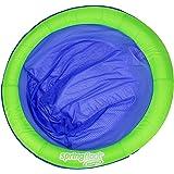 SwimWays Spring Float Papasan, Green/Blue