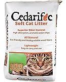 Northeastern Products Cedarific Natural Cedar Chips Cat Litter, 50 Liter Bag