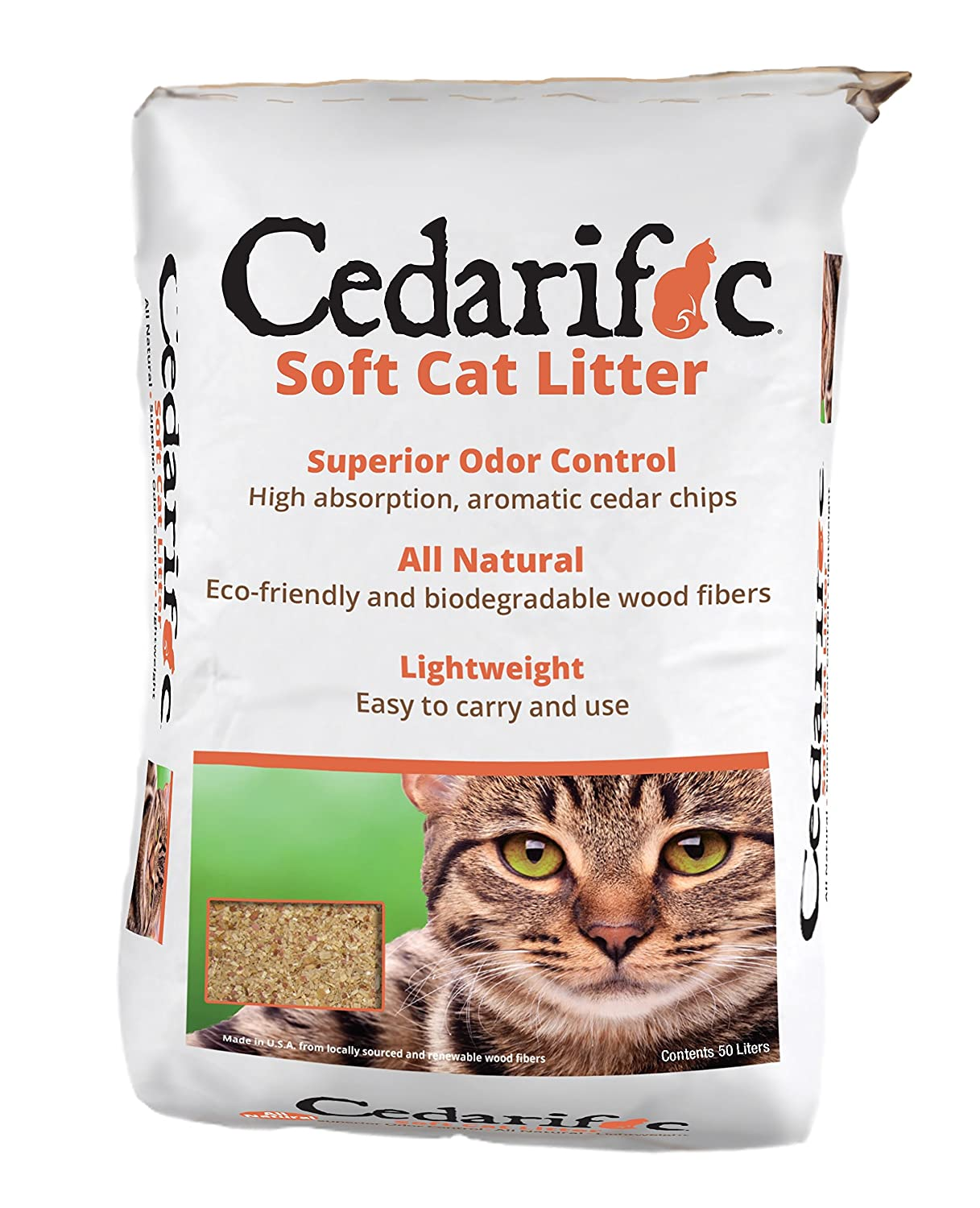 Northeastern Cedarific Cat Litter, 50 Litters