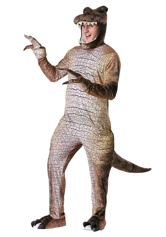Men's Prehistoric T-Rex Fancy Dress Costume Costume Costume Large 10d12c