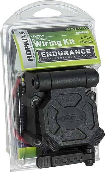 hopkins 7 blade wiring diagram amazon com hopkins 47180 endurance multi tow 4 flat to 7 rv blade  hopkins 47180 endurance multi tow