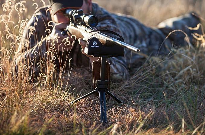 Trépied noir air rifle shooting rest stand de tir jeu de chasse sport