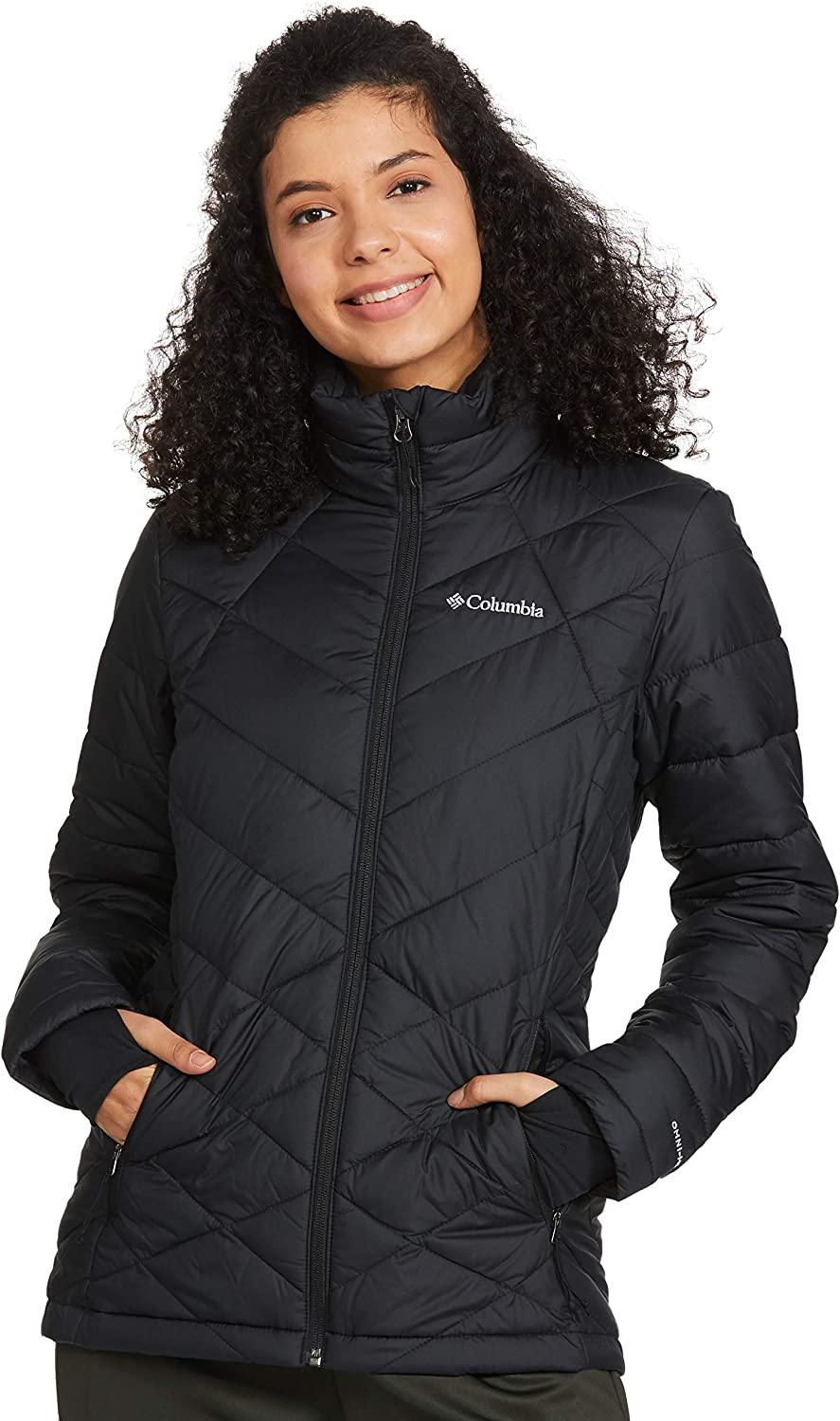 Columbia Women's Heavenly Jacket, Insulated, Water Resistant Maine