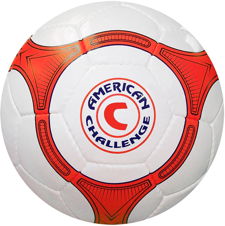 American Challenge Quina Futsal Ball, 3, White/Orange-Navy Blue ...