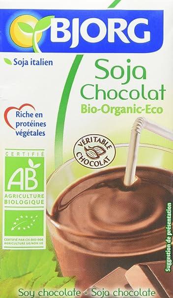 Bjorg Mini Bebida de Soja y Chocolate - Paquete de 9 x 750 ml - Total